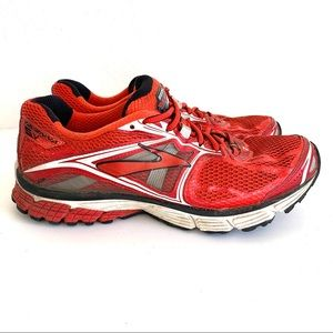 Brooks Ravenna 5 Red Sneakers Running Shoes